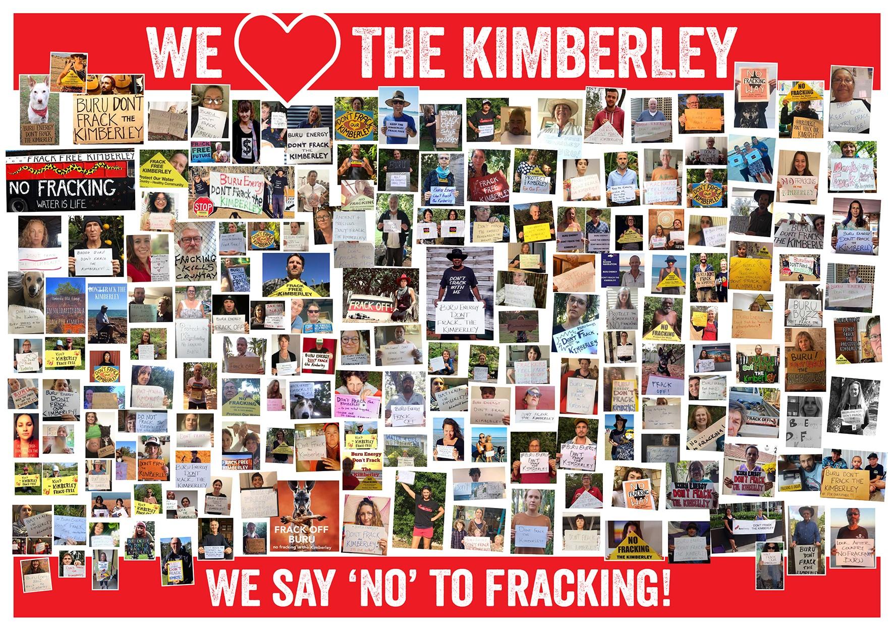 We Love the Kimberley - No Fracking