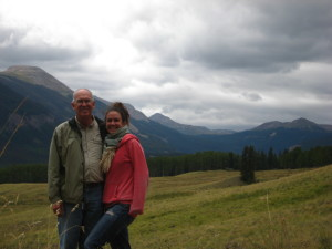 Me and my amazing Dad, summer 2012.