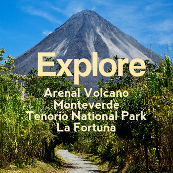 Costa Rica Arenal Monteverde Tenorio