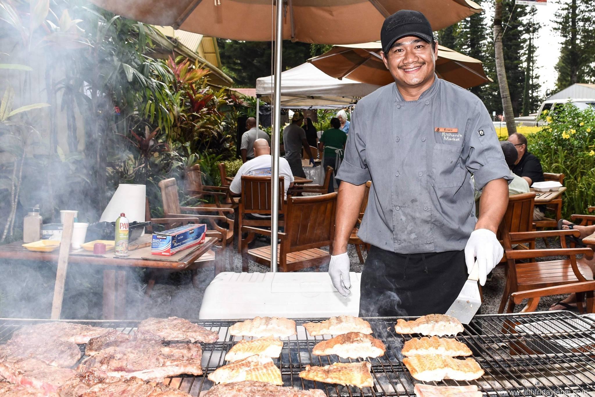 Lanai Fifth Friday Celebration Maui Hawaii