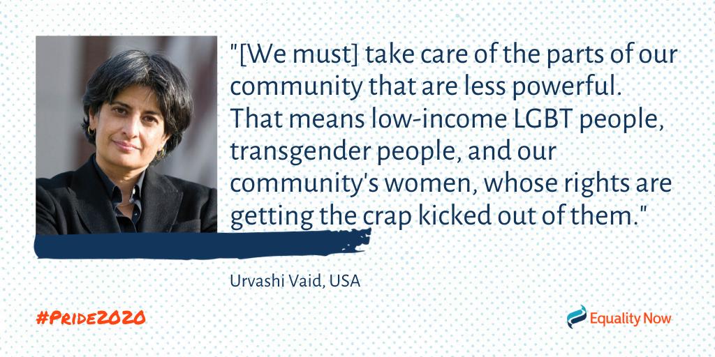 Urvashi Vaid, American LGBTQ+ activist quote
