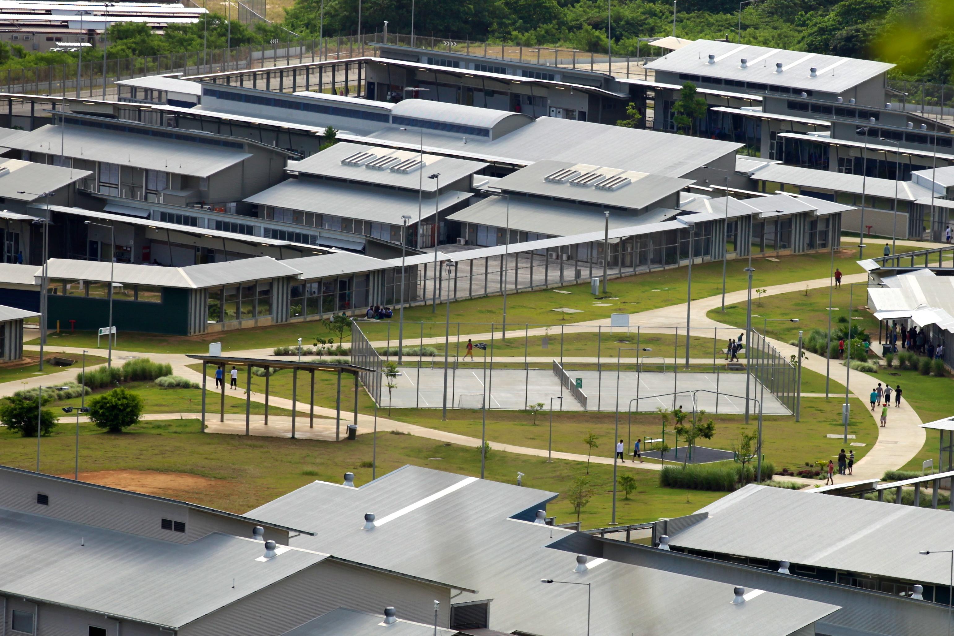 Christmas Island Detention Centre. Image: DIAC Images