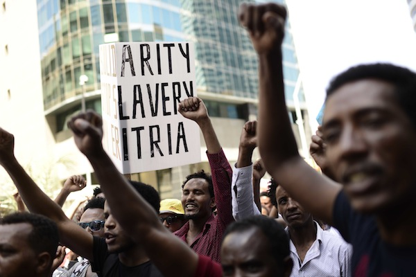 What will happen to Eritrean asylum seekers after Israel deports them?