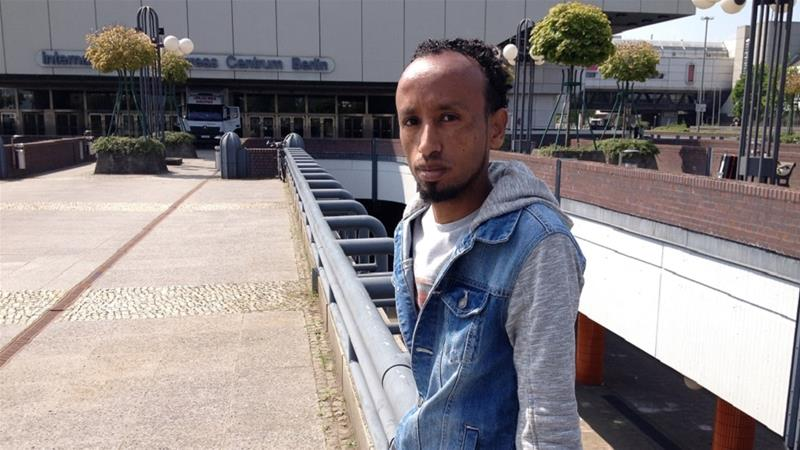 Rejected by Israel, Eritreans find shelter in Germany