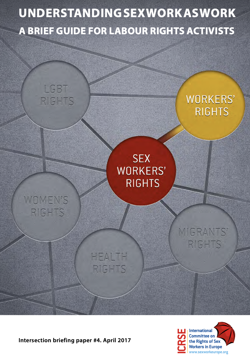 Understanding Sex Work As Work: A Brief Guide For Labour Rights Activists'