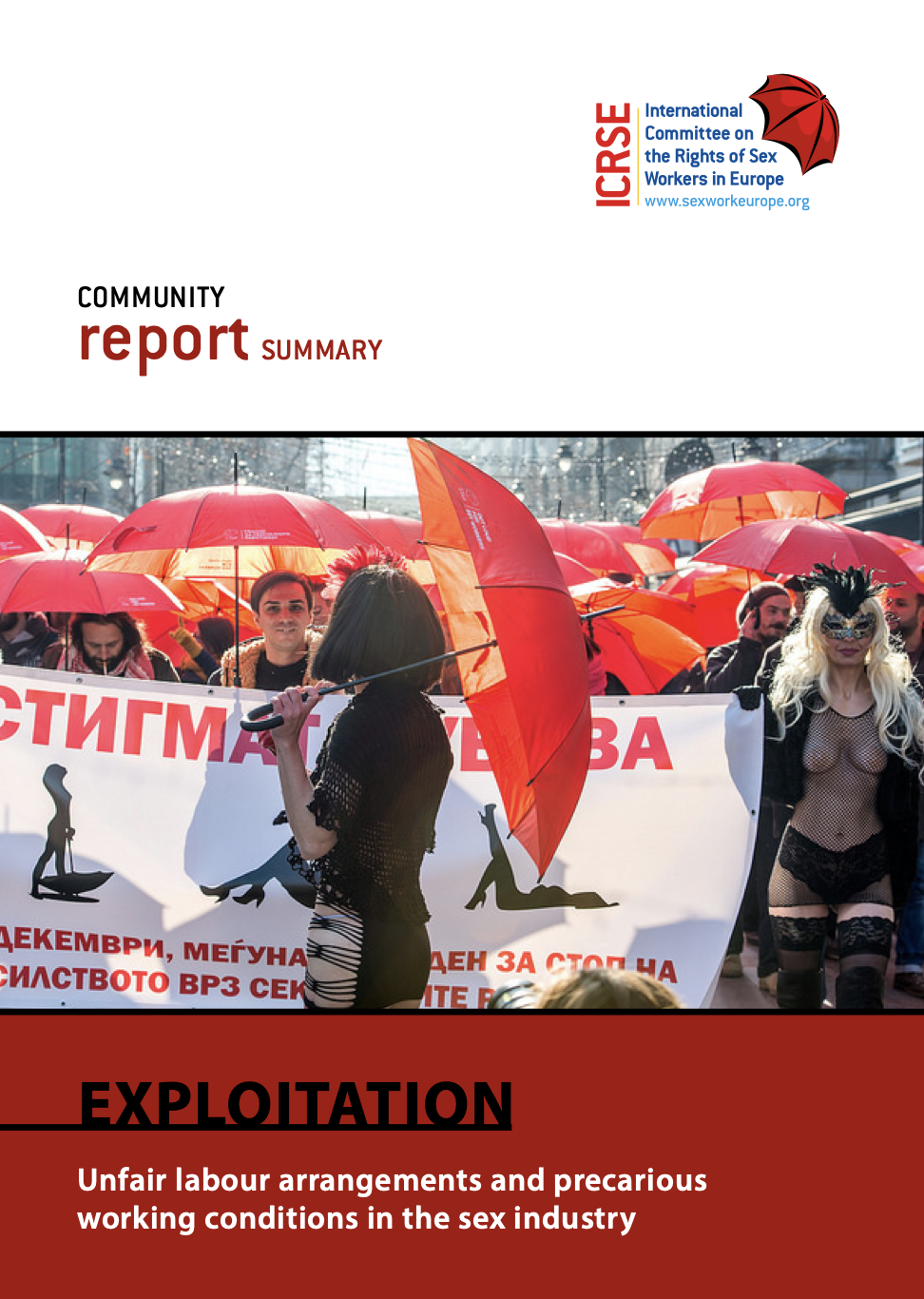 Community Report on Exploitation in the Sex Industry