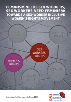 Feminism Needs Sex Workers. Sex Workers Need Feminism. For A Sex Worker Inclusive Women's Rights Movement.