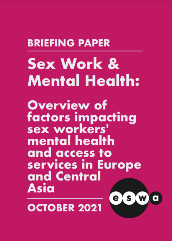 Briefing Paper on Sex Work and Mental Health