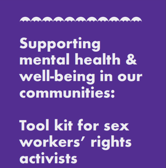 Toolkit on supporting sex workers' mental health and well-being