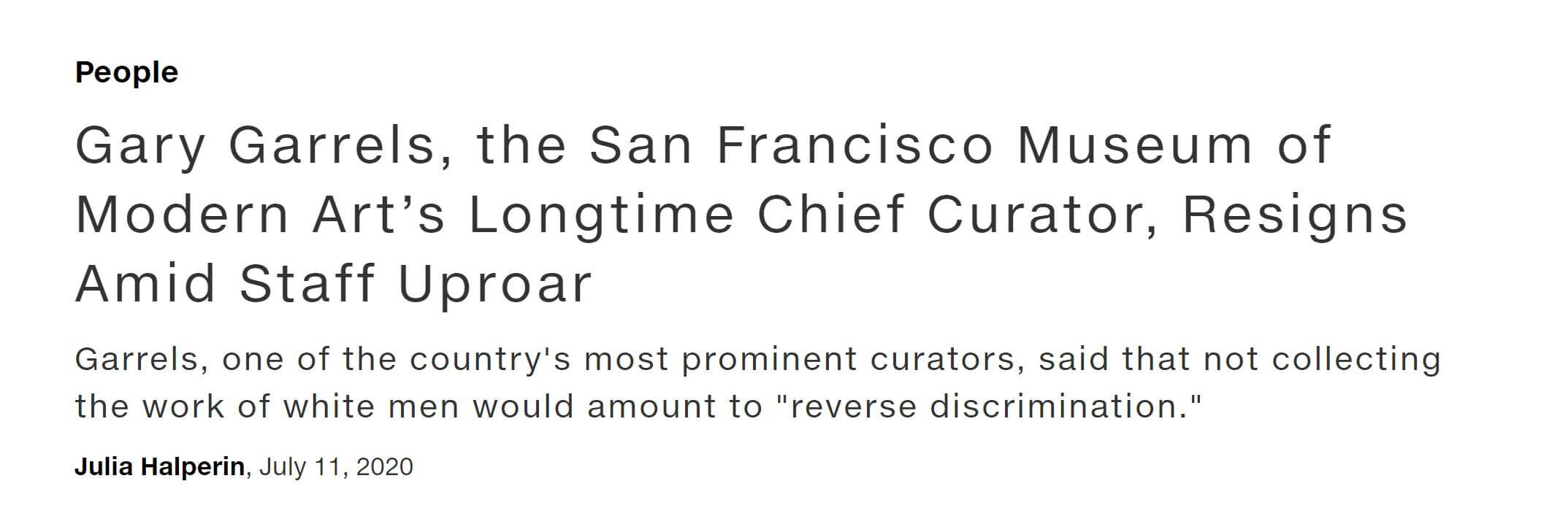 Screenshot news.artnet.com