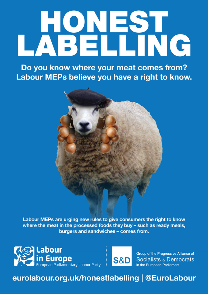 Honest food labelling - Labour in Europe