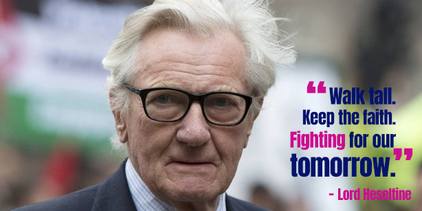 Quote from Heseltine