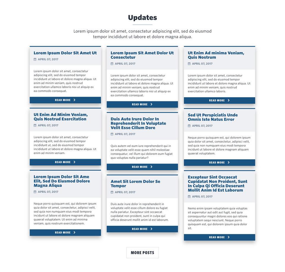 NationBuilder Content Block Module: Blog Post Cards