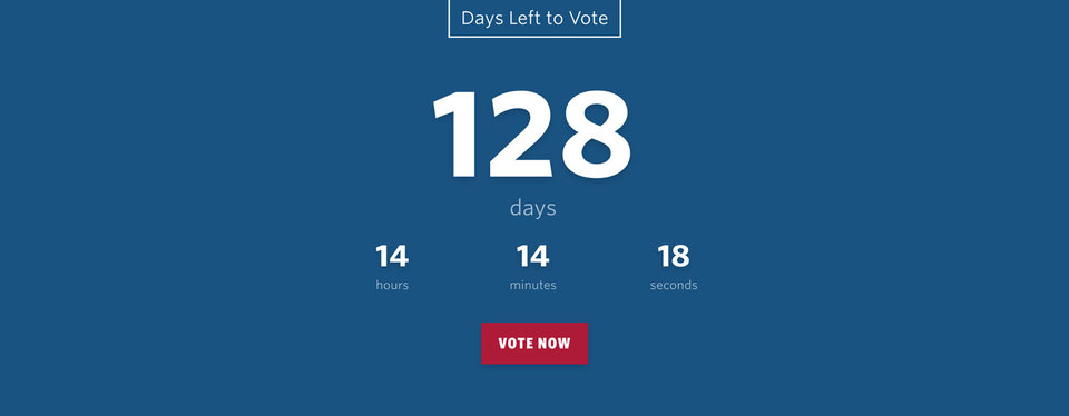 NationBuilder Content Block Module: Countdown