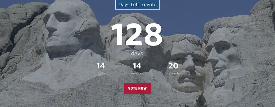 NationBuilder Content Block Module: Countdown with Background Image