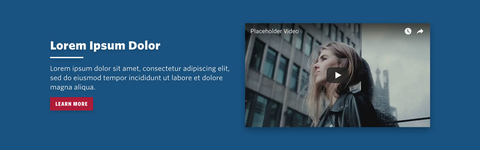 NationBuilder Content Block Module: Intro with Video