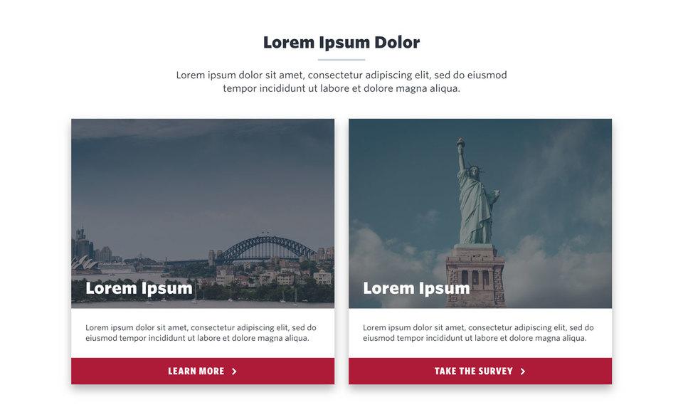 NationBuilder Content Block Module: Medium Cards