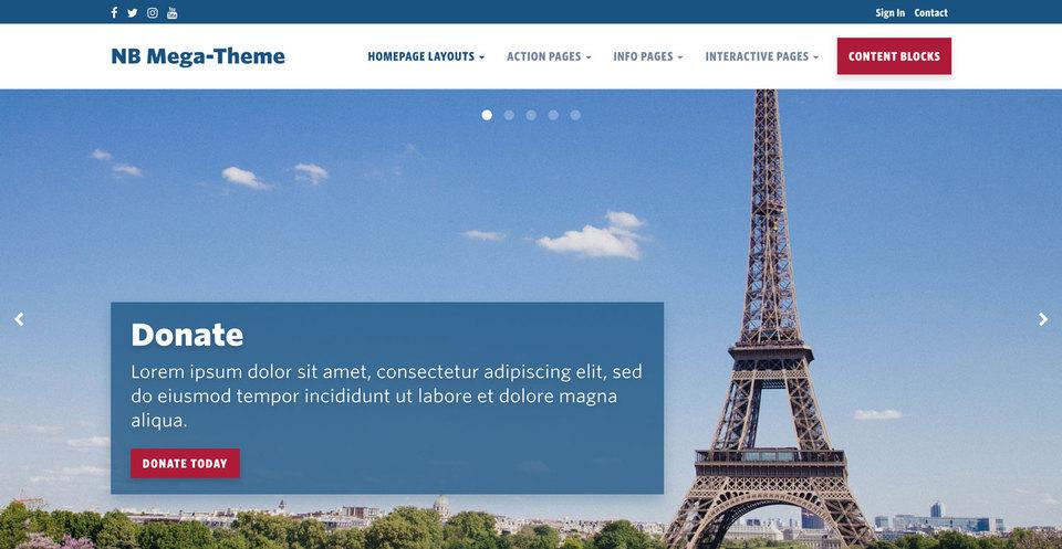 NationBuilder Content Block Module: Slider