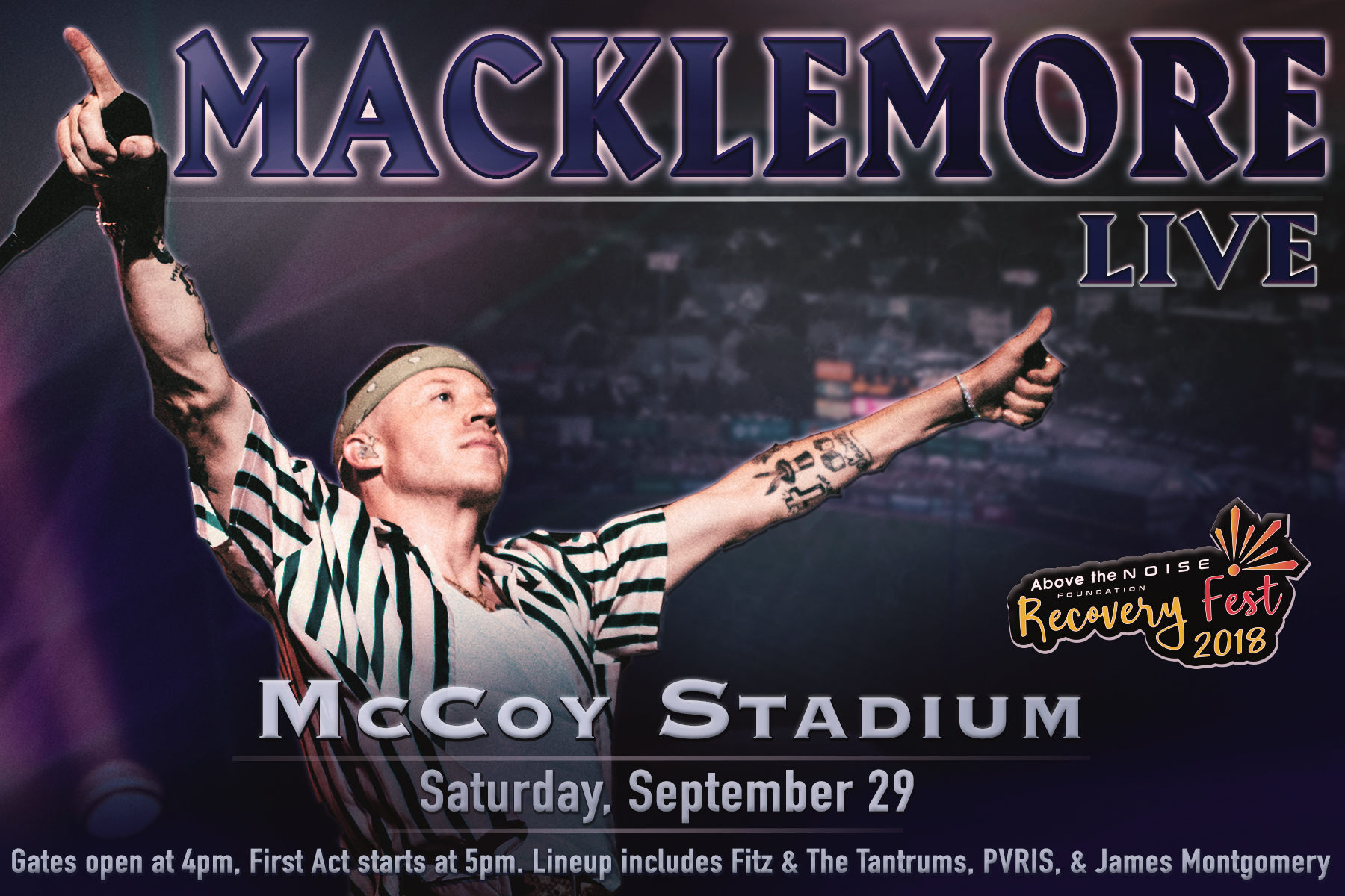McCoy Stadium: Recovery Fest 2018 - September 29