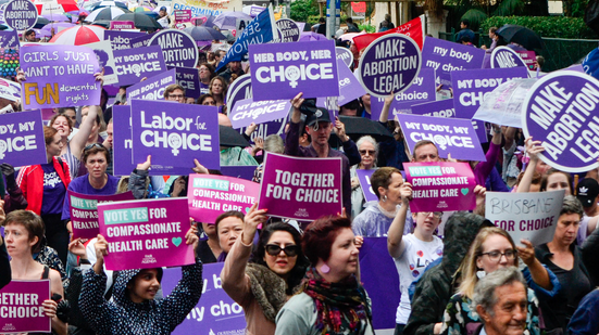 pro choice march