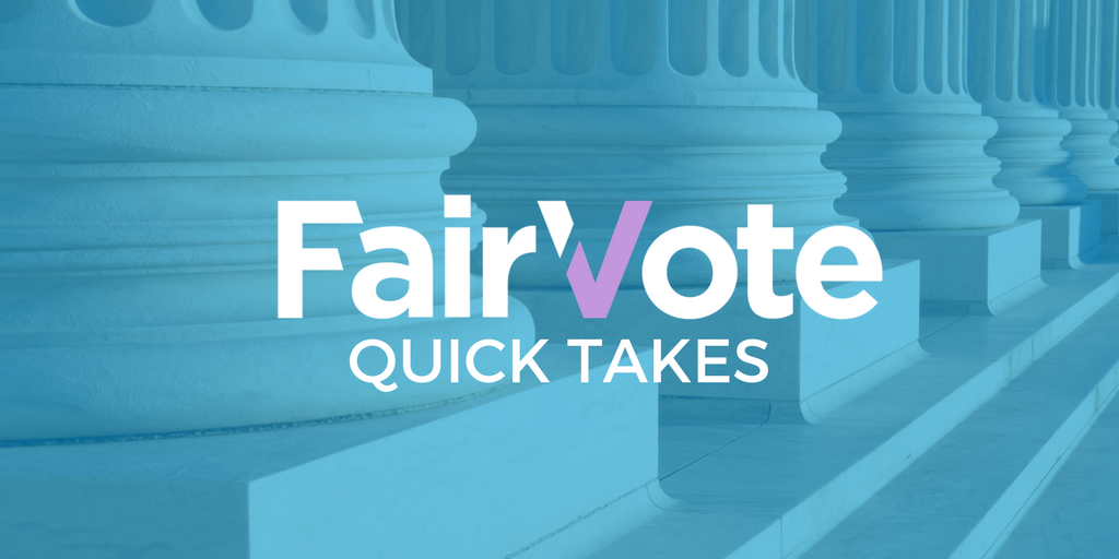Gerrymandering is getting worse… The Fair Representation Act could fix it