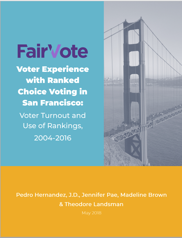 Voter Experience with Ranked Choice Voting in San Francisco