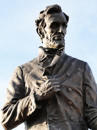 Brass Statute of Abraham Lincoln