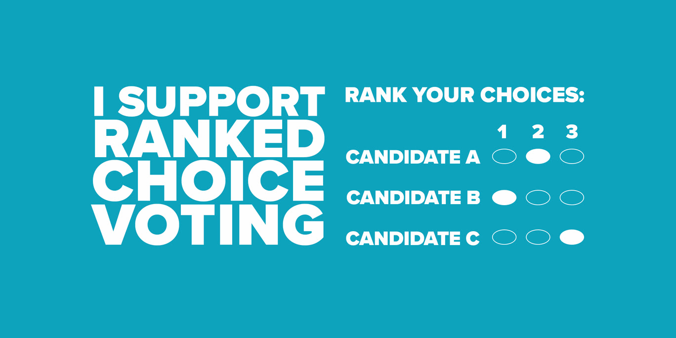 Five simple ways to support ranked choice voting