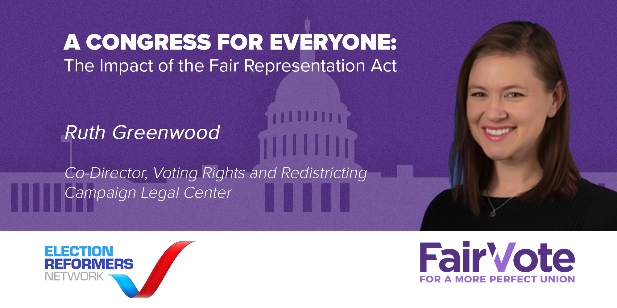 The Fair Representation Act Symposium Spotlight: Ruth Greenwood