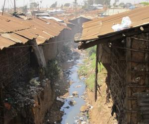 Though estimates vary, roughly 1 million people live in Kibera (Photo by Dayna H