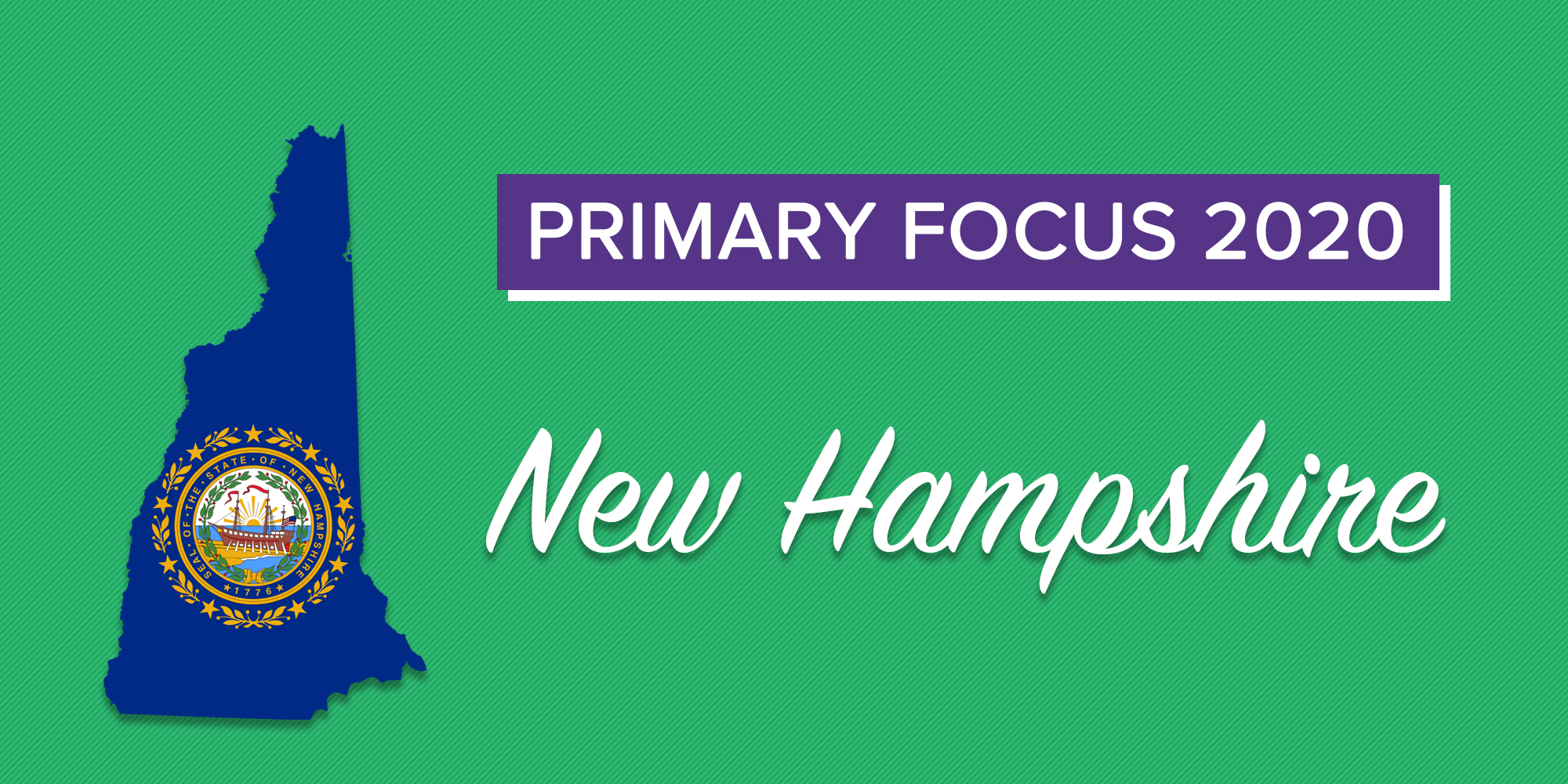 30% of Democratic votes in New Hampshire were