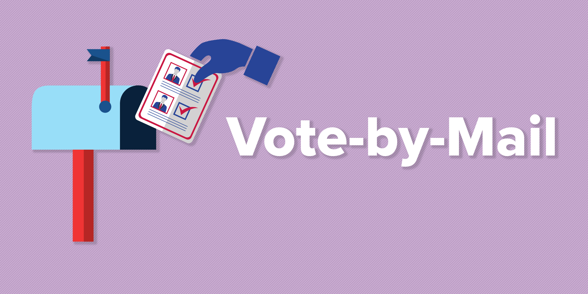 Vote-by-Mail and Social Distancing Can Work in Harmony