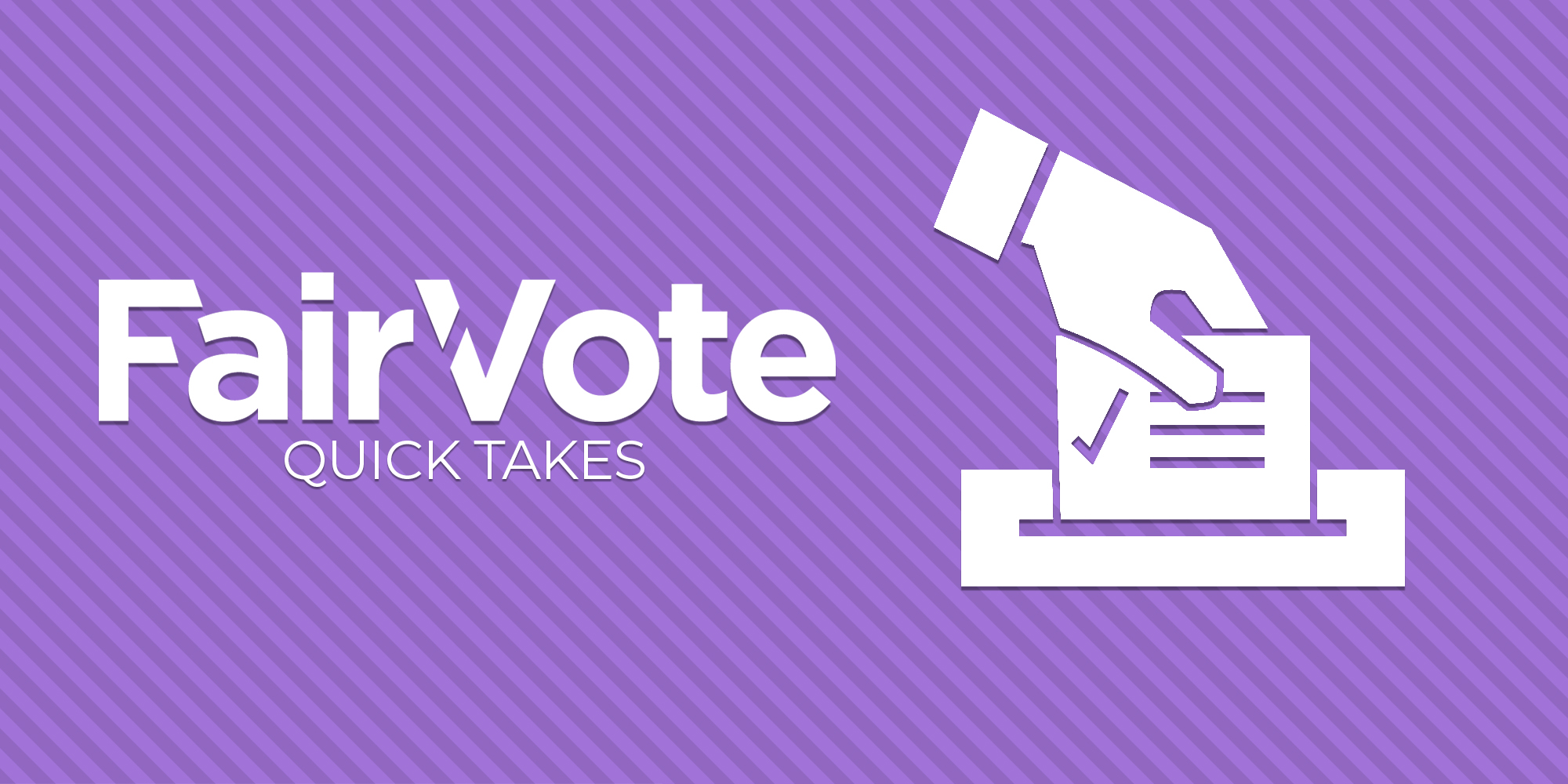 """No More""""splitting the vote"""" with Ranked Choice Voting"""