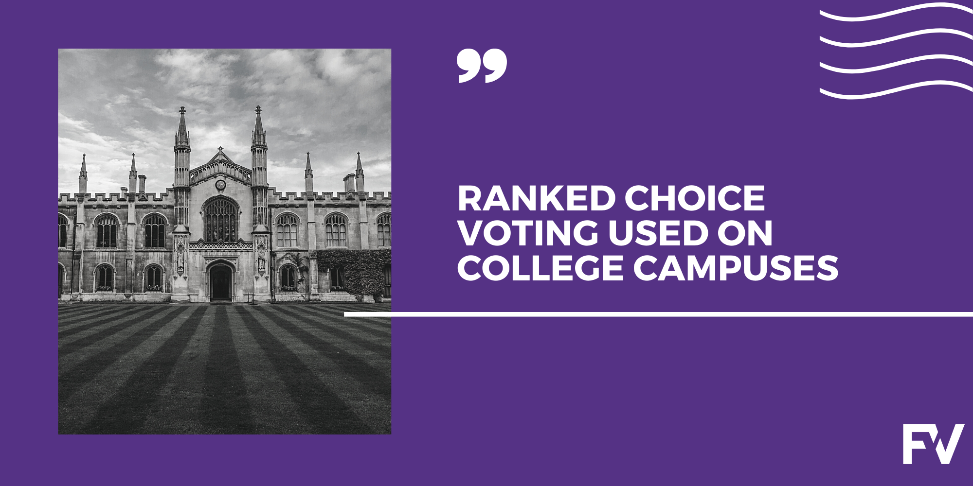 The Class of 2020 Led a Wave of Ranked Choice Voting Uses on College Campuses