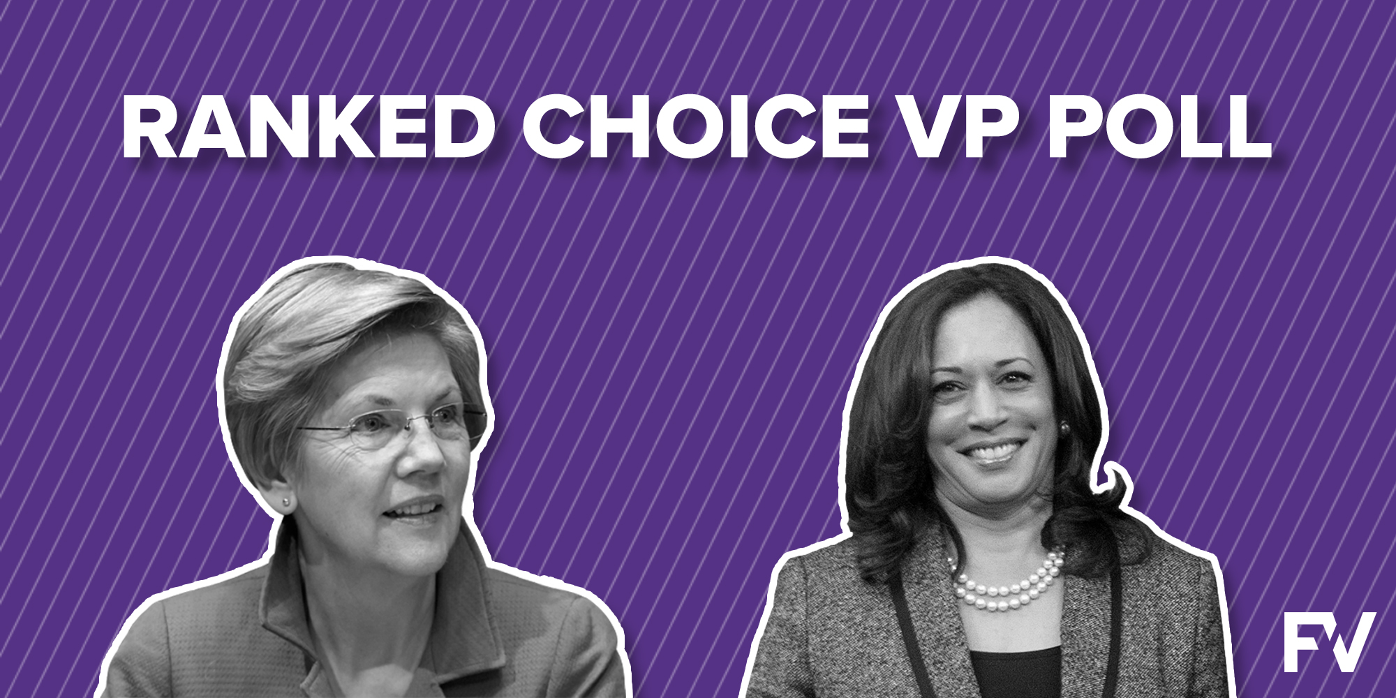 Ranked choice Vice Presidential poll shows value of polling voters' ranked preferences