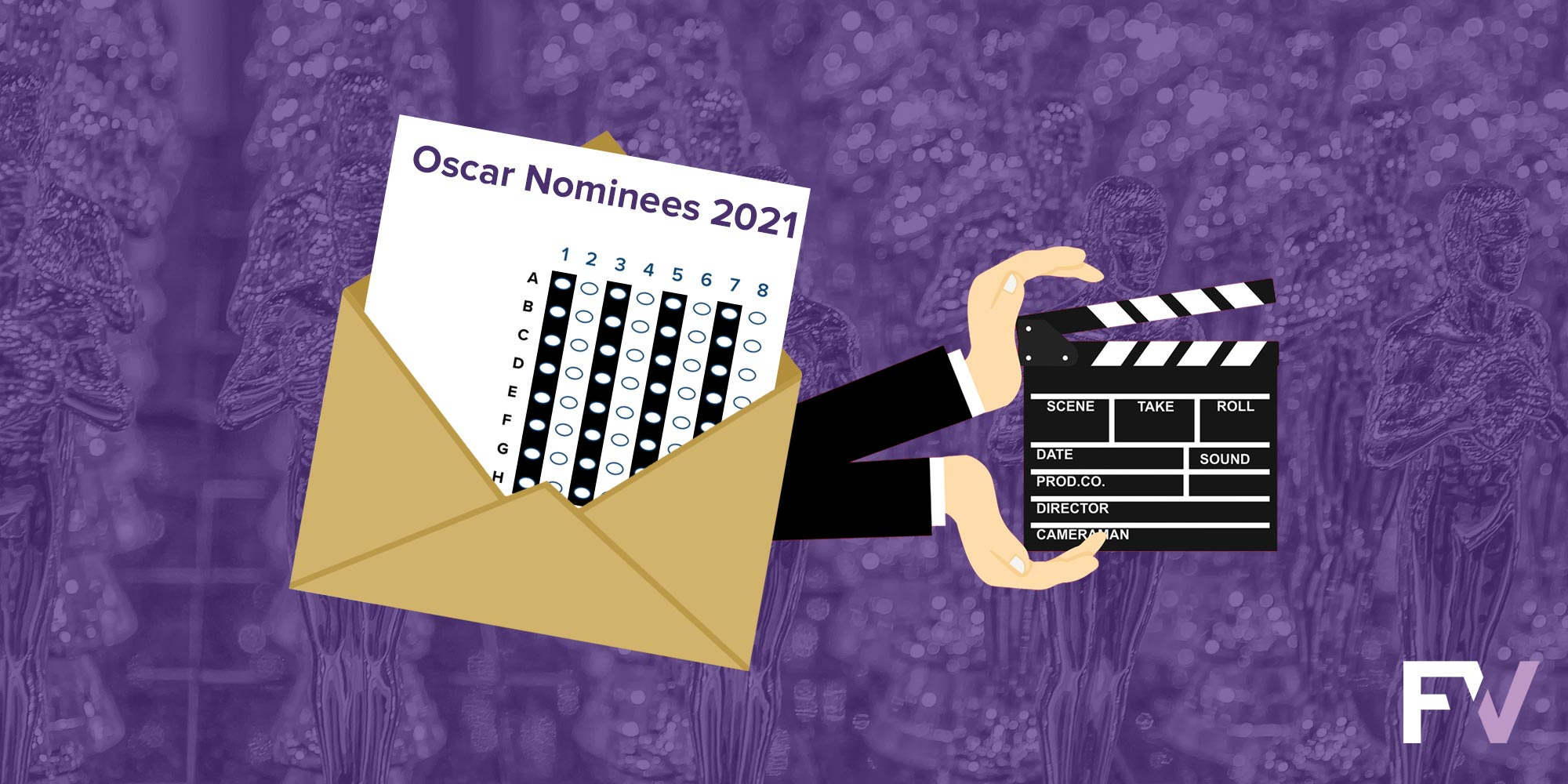 Oscar nominees selected through ranked choice voting