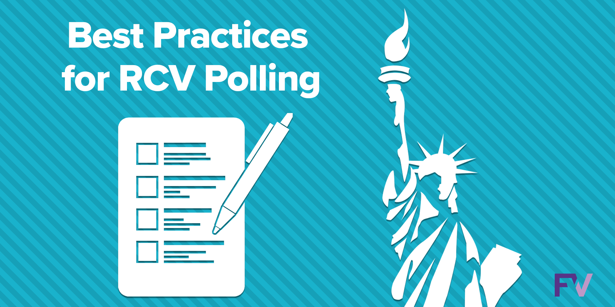 Polling ranked choice voting races: easy as 1, 2, 3!