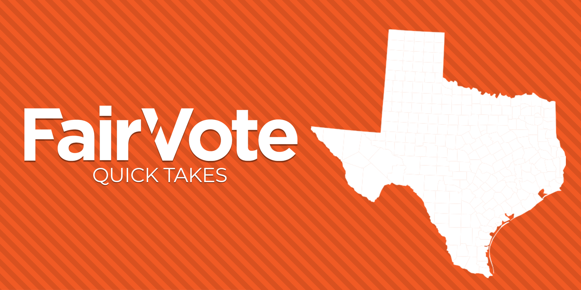 With RCV, Texas voters could have had their representation months ago after a single round