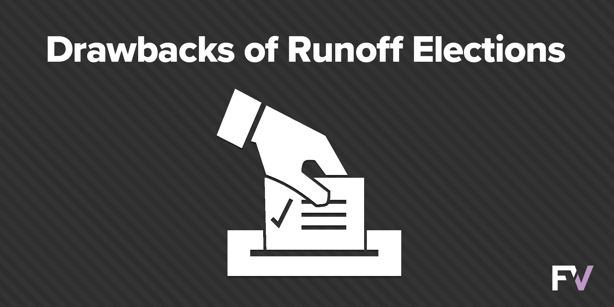 New study reveals runoffs are consistently expensive, uncompetitive, and yield low turnout