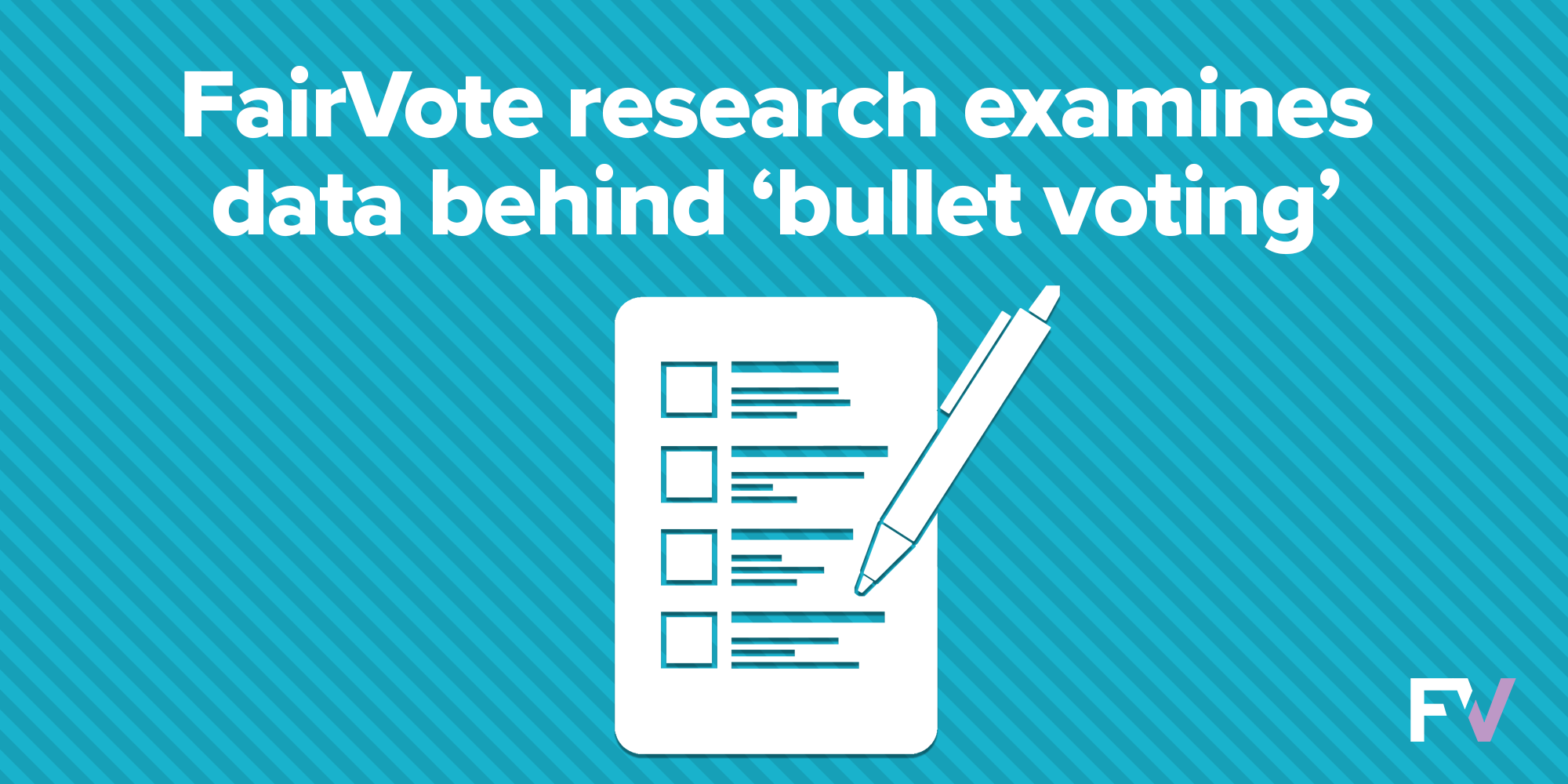 """Rate of """"Bullet Voting"""" Depends on Candidate Strength, Party Cues, and Other Factors"""