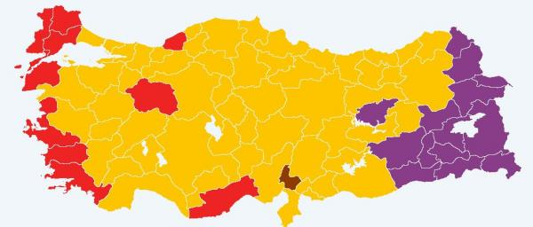 Turkish election results