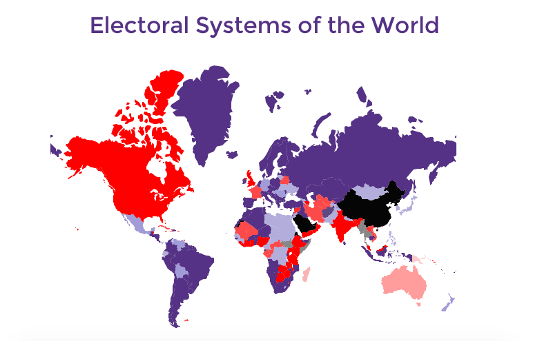 Proportional Representation in Most Robust Democracies