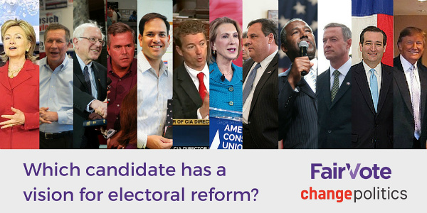 Which candidate has a vision for electoral reform?