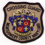 Montgomery County Crossing Guard Badge
