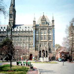 Picture of the healey building at Georgetown University