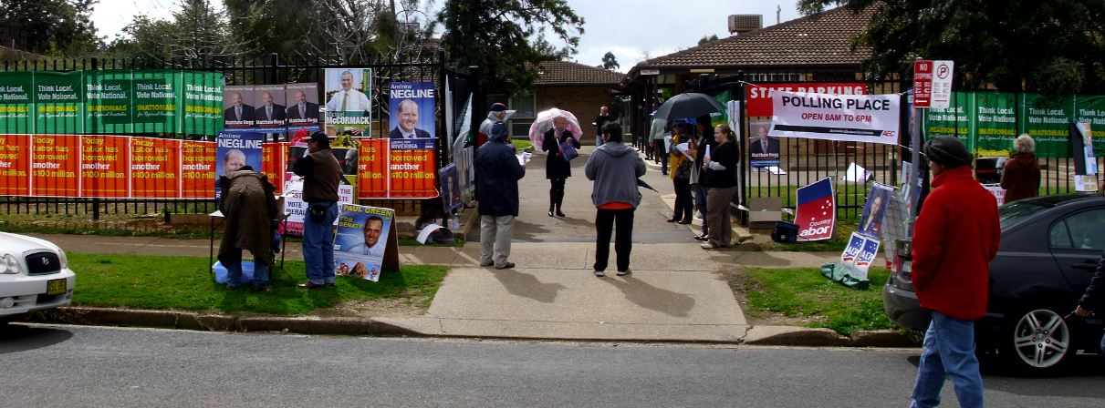 Australians cast RCV ballots in a House of Representatives election that's too close to call
