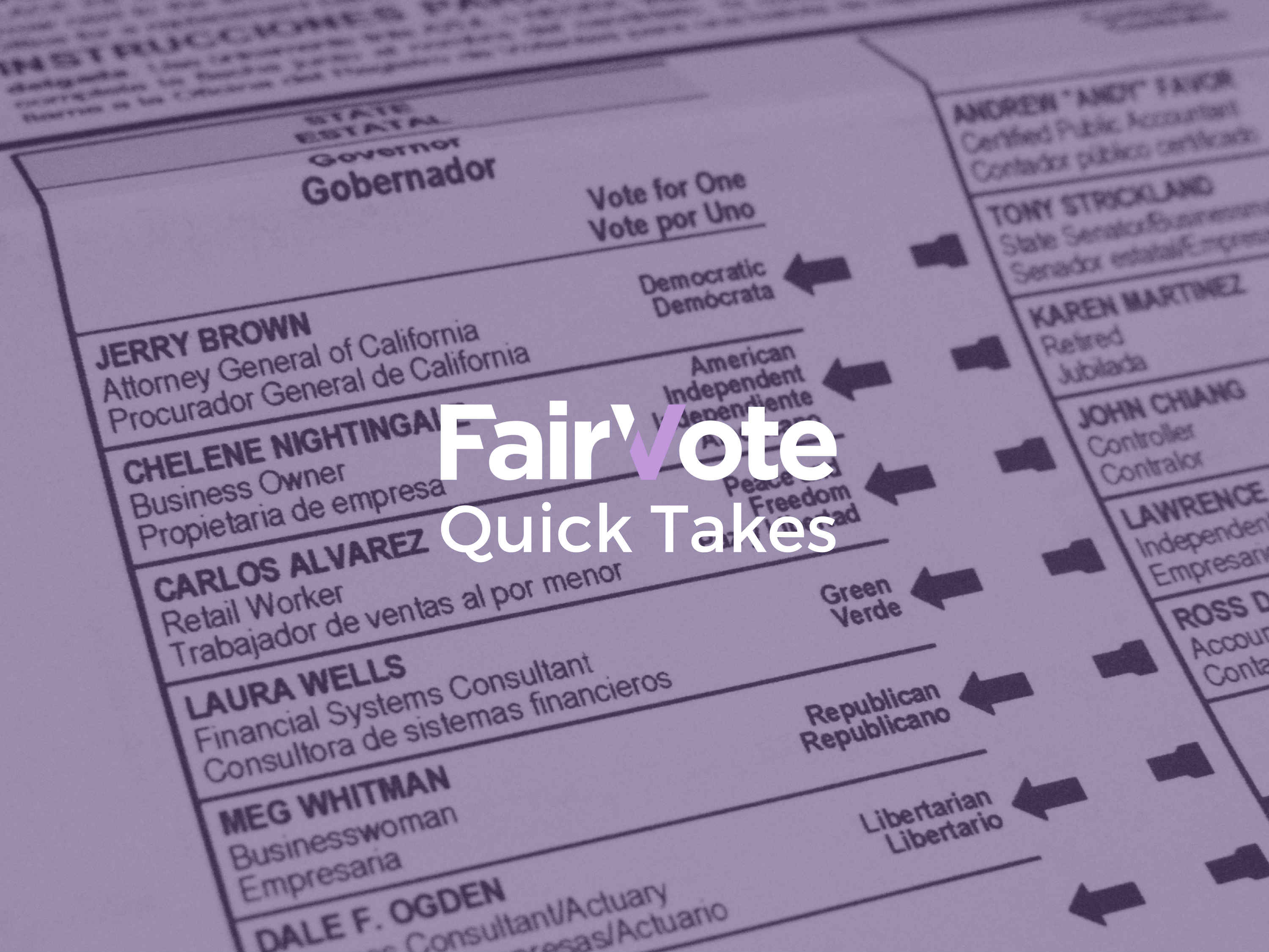 California Bill to Expand Options for Local Elections Goes to Governor Brown