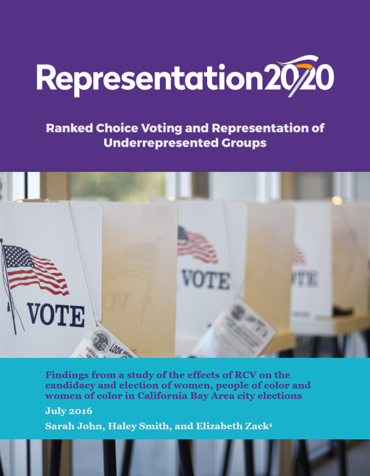 The Impact of Ranked Choice Voting on Representation