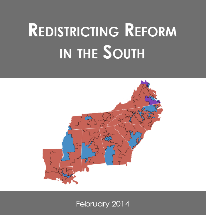 Cover Page of Redistricting Reform in the South Report