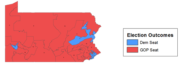 U.S. House results in Pennsylvania